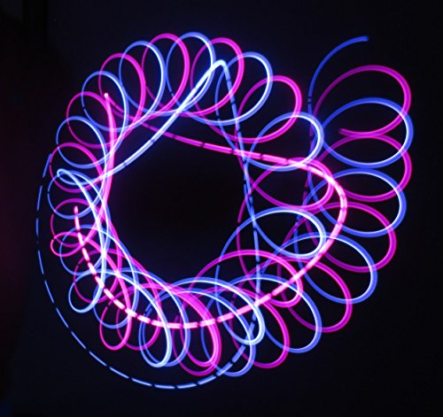 Starshine - LED Orbit Rave Spinner - 4 Microlights by Rob's Super Happy Fun Store