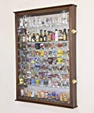 XL Shot Glass Display Case Rack Holder Cabinet