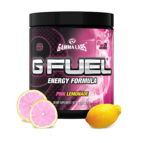 Gamma Enterprises G Fuel Nutrition Supplement, Pink Lemonade 9.8oz (280g)