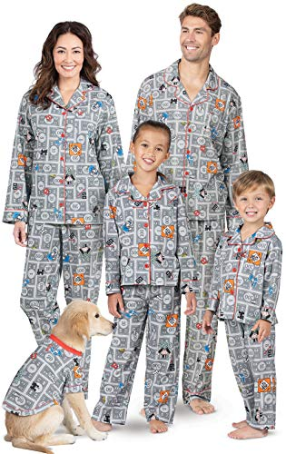 Fun Adult Pajamas - PajamaGram Monopoly Game Matching Pajamas -