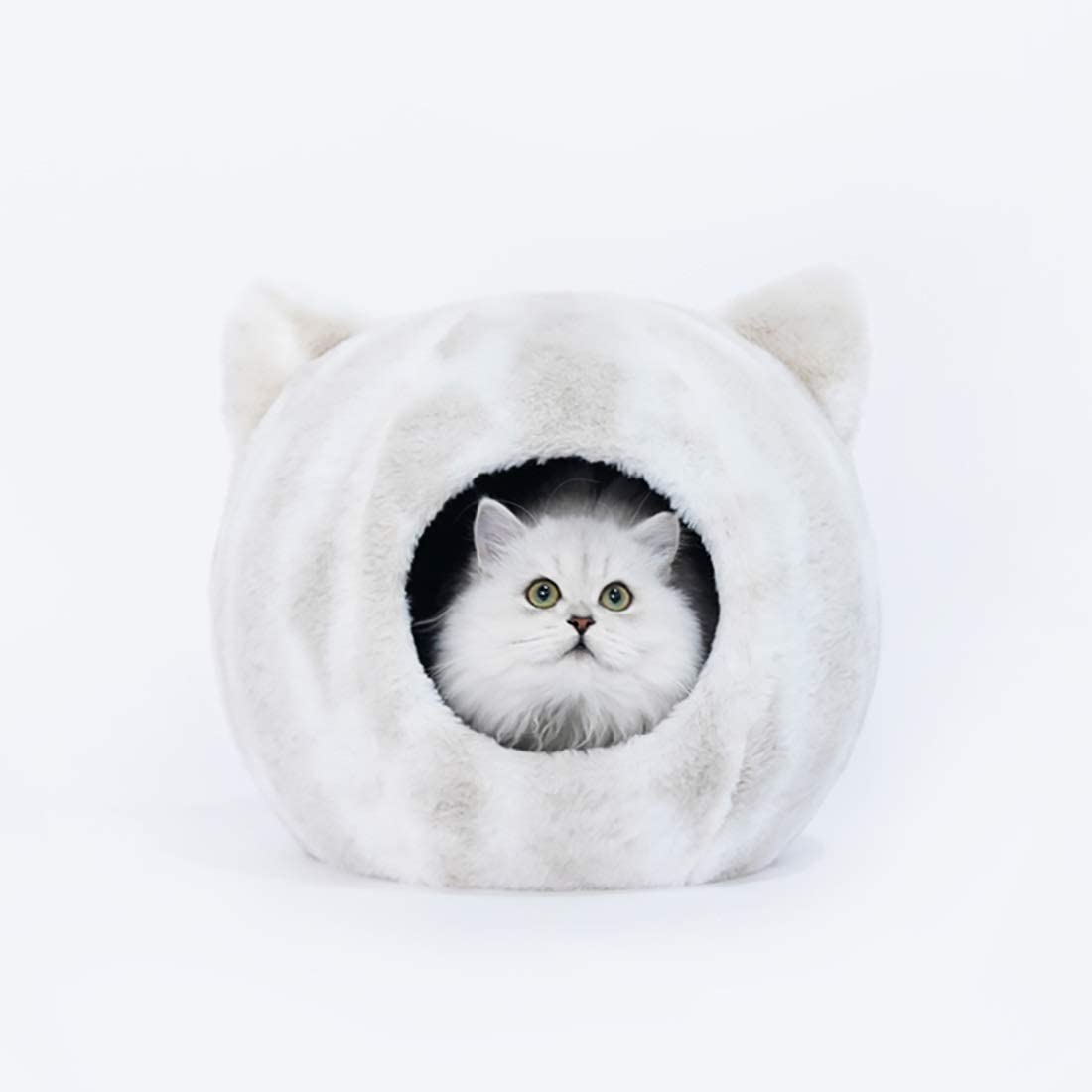 AIHU Madriguera De Conejo Cama con Forma De Nido De Mascota, Adecuado For Cama De Gato Interior O Exterior del Agujero Lavable