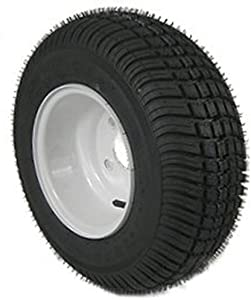 American Tire 3H370 205/65-10 Tire & Wheel (C) 4 Hole / White