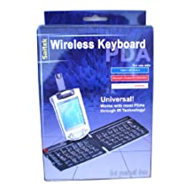 WIRELESS COMPUTER KEYBOARD IR Technology FOR PDA PALM M100 105 125 130 III VX M500 505 515 I705 ZIRE, -- HANDSPRING VISOR FOR PALM OS 3.5 AND ABOVE (NOT FOR Prism), Sony Clie 300 600 700 NR70 Series SJ30 20 SL10 T400 600 series, iPaq H3600-3900 series, HP Jornada 540 560 series, Casio Cassiopeia E125, Toshiba E310