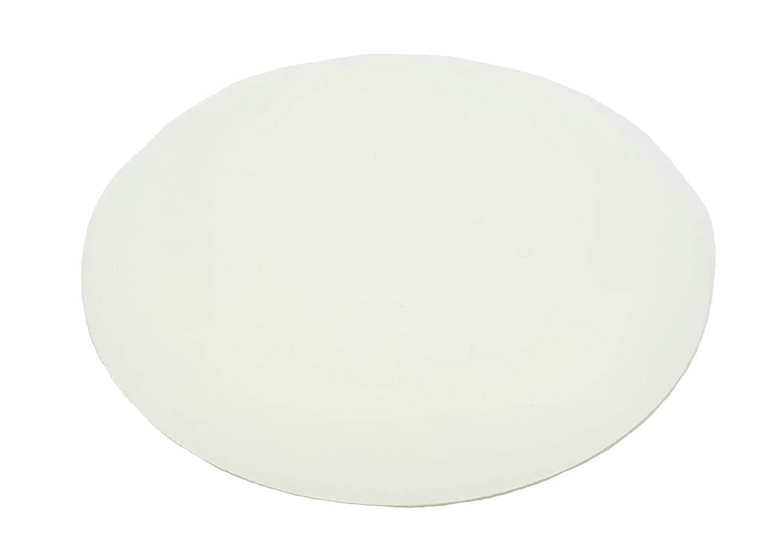 10 Stü ck Tü rpuffer 40 mm versch. Farben fü r Wand oder Boden selbstkleben oder zum Schrauben (Transparent) HWZ