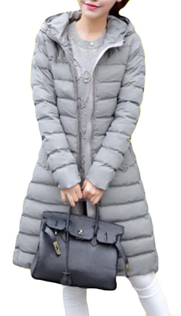 Domple OUTERWEAR レディース B076Y3TX4L  グレー Small