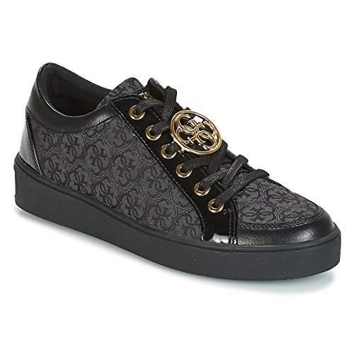 Guess Dames Glinna Chaussures De Sport, Noir (blkbl Blkbl)