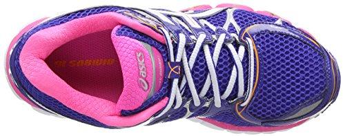 16 Azul para Neon de 6001 Blue Deporte Nimbus Gel Mujer Asics Pink White True Zapatillas Hqg11E