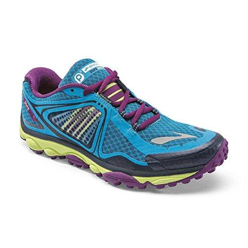 Brooks Women PureGrit 3 / 120173 1B 437 Damen Laufschuh Trailschuh blau (US 12)