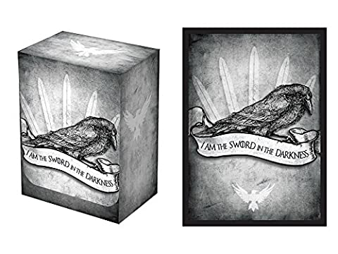 100 Sword in the Darkness Protectors & Deck Box Combo Set Legion Supplies Matte Series Sleeves 2-Packs - Standard Magic the Gathering Size