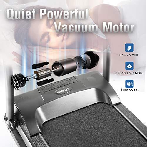 Merax Treadmill Easy Assembly Folding Electric Treadmill Motorized Running Machine by Merax (Image #2)