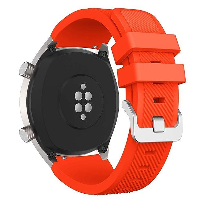Correa de Silicona para Reloj Huawei GT/Samsung Galaxy Watch 46 mm ...
