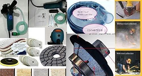 """3//16/"""" Diamond Bevel Bullnose Router Dust Shroud convex blade Granite concrete"""