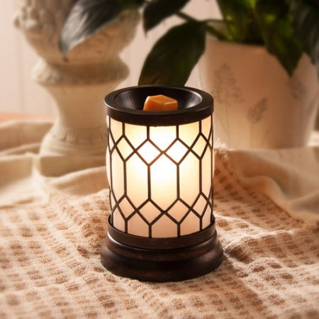 ScentSationals Full-Size Wax Warmer, Bronze Lantern (1)