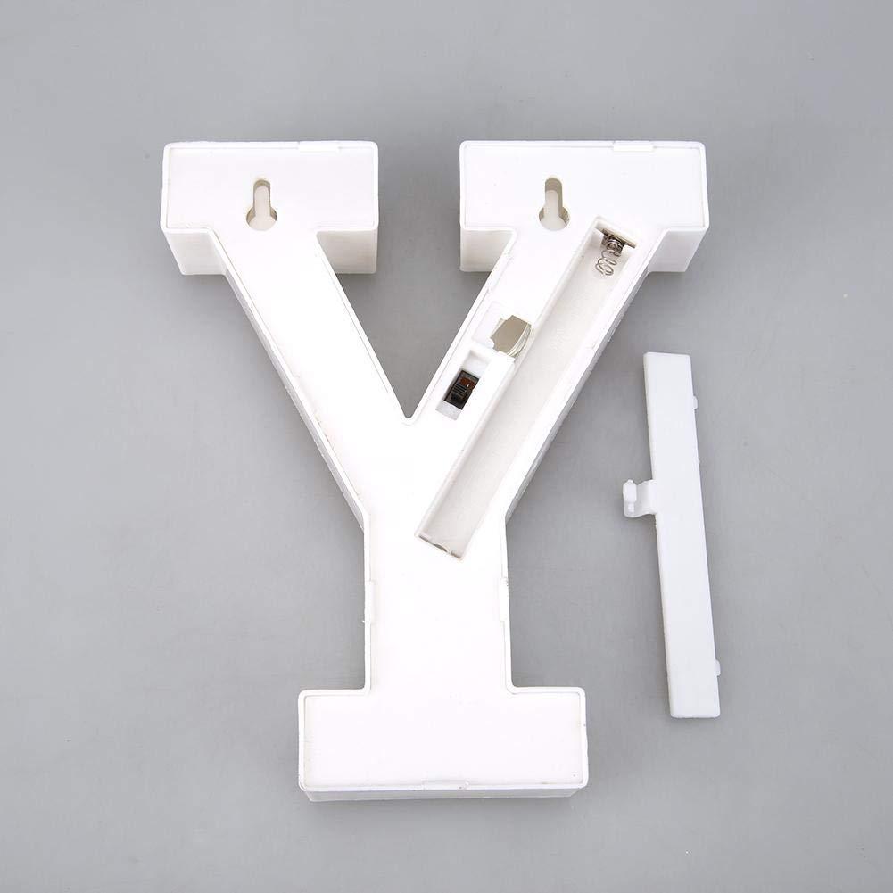 Seawang 3D Lettere Alfabeto Luminose Luci LED Lettere Alfabeto Lettere Alfabeto Luminose LED per Decorazione di Casa,Matrimoni,Feste,Reception,Bar lettera R