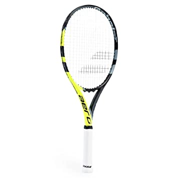 Amazon.com : Aero G Babolat Strung with Cover (4 1/8) : Sports & Outdoors