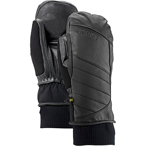 Burton Women's Favorite Leather Mitts, True Black, (Burton Leather Glove)