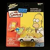 CHIEF WIGGUM'S POLICE CRUISER The Simpsons 2003 Johnny Lightning Die-Cast Vehicle