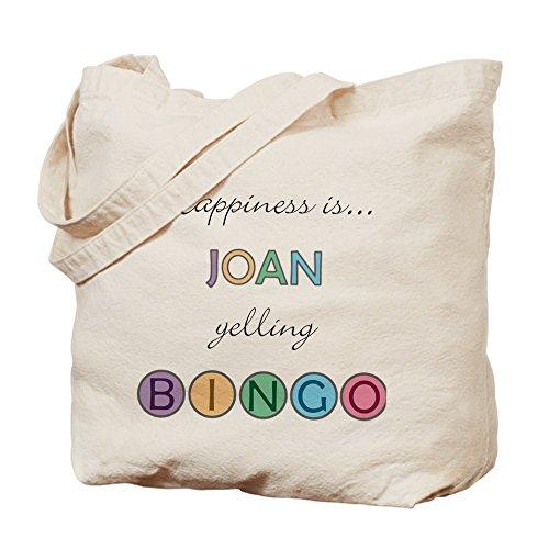 CafePress–Joan Bingo–Gamuza de bolsa de lona bolsa, bolsa de la compra