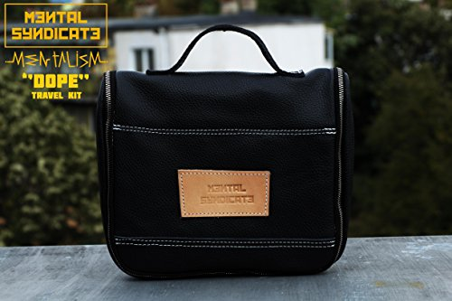 Toiletry Bag Leather Dopp Kit Leather Kit Leather Travel by Mental Syndicate