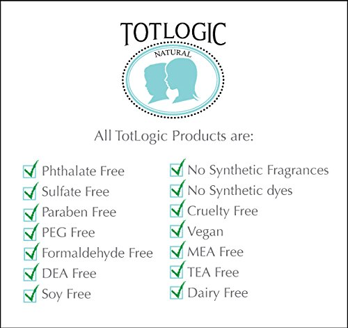 TotLogic Sulfate Free Baby Shampoo- Lavender Bliss Hair Care, 8 oz, No Phthalates, No Formaldehyde, Infused With Natural Antioxidants and Botanicals by TotLogic (Image #3)