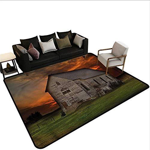 Western,Floor Mat Home Decoration Supplies 36