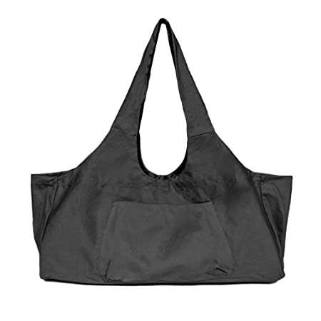Faliya - Bolsa Grande para Esterilla de Yoga, Color Negro ...