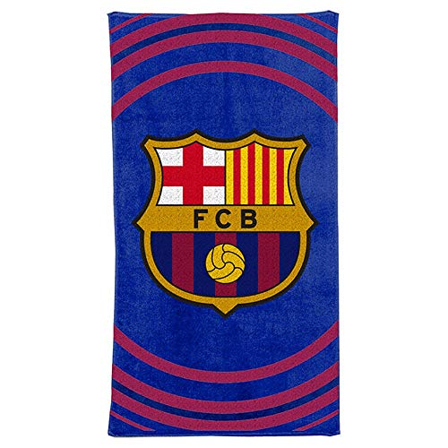 Football Club Barcelona - FC Barcelona Pulse Towel, 70x140cm, Multi