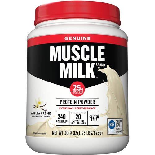 CytoSport Muscle Milk Protein Powder, Chocolate, 1.93 lbs