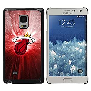 LOVE FOR Samsung Galaxy Mega 5.8 Heat Basketball Poster Personalized Design Custom DIY Case Cover