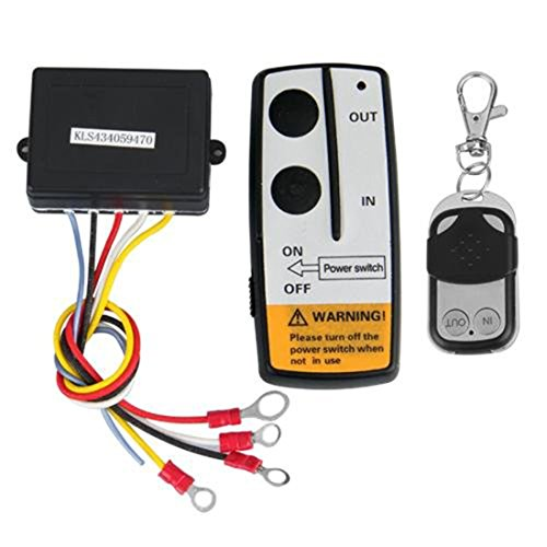 Wireless Winch Remote Control Kit 12V Switch Compatible with Jeep by Joylive (Image #1)