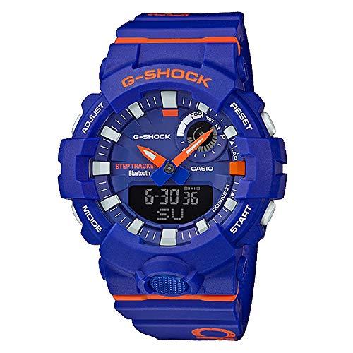 G-SHOCK Analog-Digital Step Tracker Blue Dial Men's Watch GBA800DG-2A