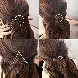 Pyrsun(TM) 1 PC Hot Selling Women Lady Girls Metal Triangle Shape Barrette Hair Clip Hairpin Fashion Hair Accessories Decorations