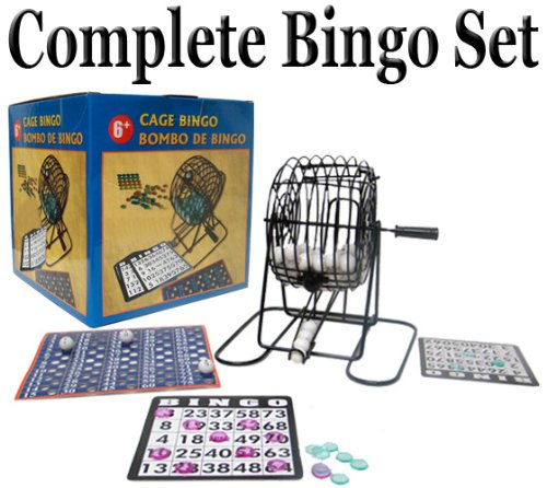 All-In-One Complete Home Bingo Set by Poker