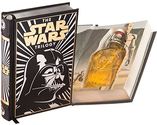 Flask Hollow Book - Star Wars (Leather-bound) (Magnetic Closure) (Custom-Etched)