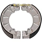 Big Bearing BS-146 3223 Honda TRX500FP Fourtrax foreman 4x4 ATV Rear Brake Shoe 2007-2012, Organic Based Non-Asbestos(Pack of 2)