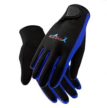 PAWHIT Wetsuit Gloves 3mm Neoprene Gloves Thermal Anti-slip Diving Gloves for Men Women