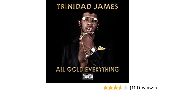 Trinidad James Shoes In All Gold Everything
