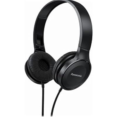 Panasonic RP-HF100E Auriculares estéreo, Color Negro