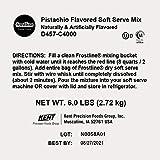 Frostline Pistachio Soft Serve Mix, Artificially