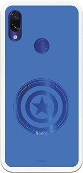 Funda para Xiaomi Redmi Note 7-Note 7 Pro Oficial de Marvel Capitán América Escudo para Proteger tu móvil. Carcasa para Xiaomi de Silicona Flexible con Licencia Oficial de Marvel.: Amazon.es: Electrónica