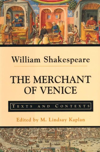 The Merchant of Venice: Texts and Contexts (Bedford Shakespeare) by Palgrave Macmillan