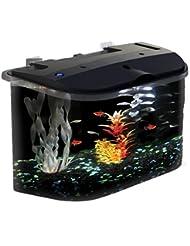 API Panaview Aquarium Kit with LED Lighting and Power Filter,...