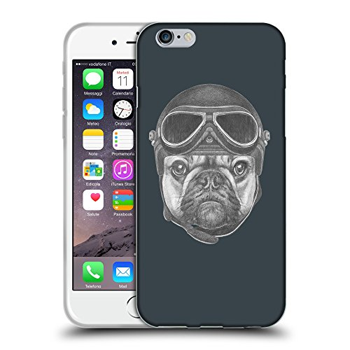 GoGoMobile Coque de Protection TPU Silicone Case pour // Q05250606 Casque bulldog Arsenic // Apple iPhone 6 PLUS 5.5""