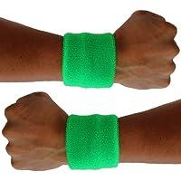 X80® Sweatbands de neón (2-Pack)