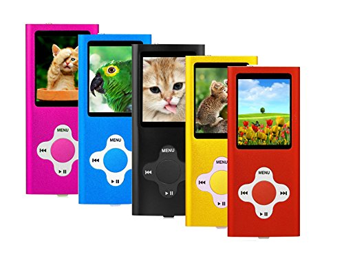 MP3 Player Music Media ES Traders 8GB With Radio, Voice Recorder, Games 4th...