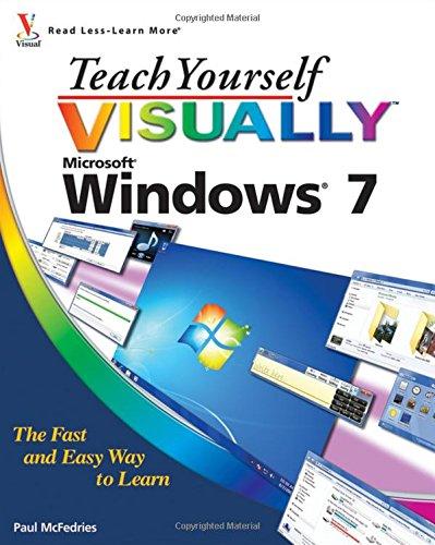 Teach Yourself VISUALLY Windows 7]()