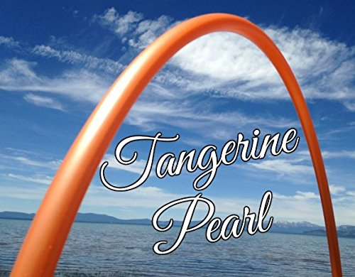 Tangerine Pearl Colored PolyPro Practice Hula Hoop - You Choose Your Size