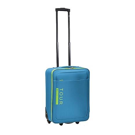 951312425 RONCATO TOUR TROLLEY CABINA RYAN AIR 55x40x20 cm. (TURCHESE): Amazon ...