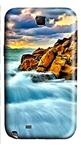 Samsung Galaxy Note II N7100 Cases & Covers - Coast Heap Of Stones Custom PC Soft Case Cover Protector for Samsung Galaxy Note II N7100