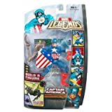 : Marvel Legends Marvel Heroes Series 3 (Hasbro): 'Brood Queen Series' Captain America Action Figure
